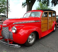 Classic Wooden Panel Car by Barberelli