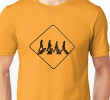 WATCH OUT LONDON!!!! Beatles crossing. Unisex T-Shirt