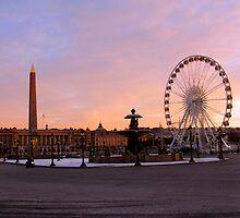 place de la Concorde, Paris at morning by baud