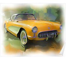 57' Corvette Poster