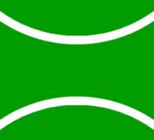 tennis : tribalz Sticker