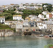 Port Issac in Cornwall in Colour by Carmen Taylor