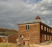 School House at Bodie State Historic Park by Olga Zvereva