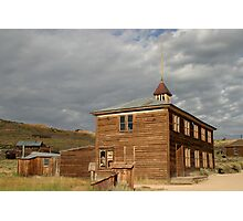 School House at Bodie State Historic Park Photographic Print