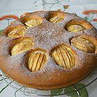 Gâteau suave aux pommes. by Gilberte