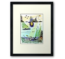 Ocean Depths Colour Framed Print