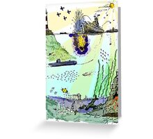Ocean Depths Colour Greeting Card