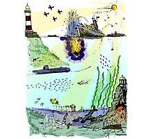 Ocean Depths Colour Photographic Print