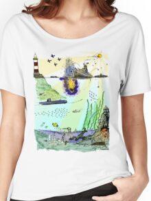 Ocean Depths Colour Women's Relaxed Fit T-Shirt
