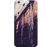 Icicles and their beauty iPhone Case/Skin