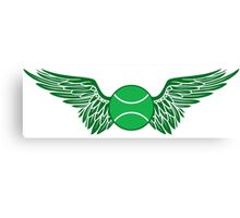 tennis winged  Canvas Print
