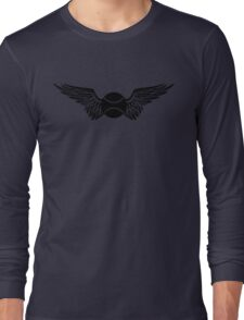 tennis : winged  Long Sleeve T-Shirt