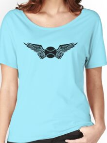 tennis : winged  Women's Relaxed Fit T-Shirt