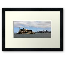Alcatraz, San Francisco Framed Print
