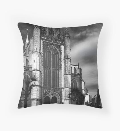 Hooglandse Church III Throw Pillow
