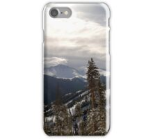 Sun on the Mountains iPhone Case/Skin