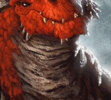 Red Dragon Sticker