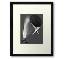 Searchlights Framed Print