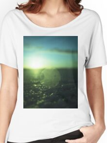 Circle in Square - medium format analog Hasselblad film photo Women's Relaxed Fit T-Shirt