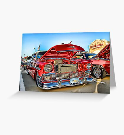 Classic Auto Series # 14 Greeting Card