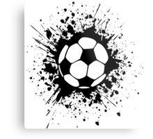 futbol : soccer splatz Metal Print