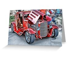 Classic Auto Series # 17 Greeting Card