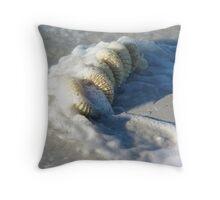 Whelk Egg Case Throw Pillow