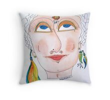 Ancestral Essence Throw Pillow