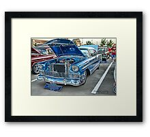 1956 Chevy BelAir Classic Auto Series # 13 Framed Print