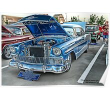 1956 Chevy BelAir Classic Auto Series # 13 Poster