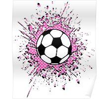 futbol : soccer splatz Poster