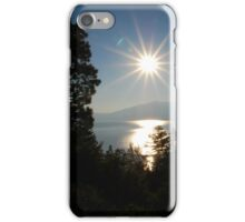 Sunrise at Lake Tahoe iPhone Case/Skin