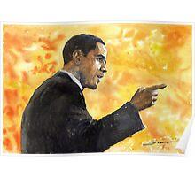 Barack Obama 02 Poster