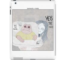Dinosaurs + Mama iPad Case/Skin