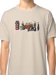 A long time ago in 1943 (far far away....in france) Classic T-Shirt