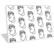 Cartoon Genius Laptop Skin