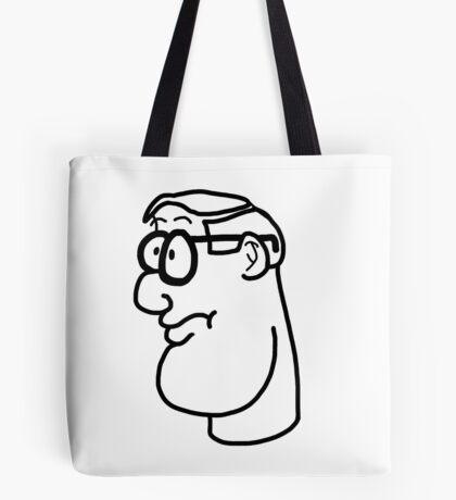Cartoon Genius Tote Bag