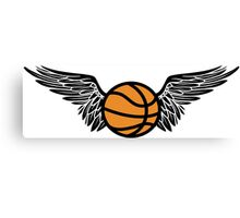 basketball : winged Canvas Print