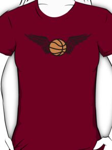 basketball : winged T-Shirt