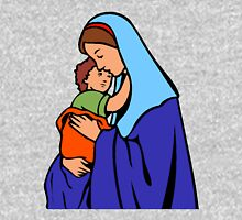 Virgin Mary and Child-2 Unisex T-Shirt
