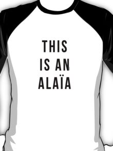 THIS IS AN ALAIA T-Shirt