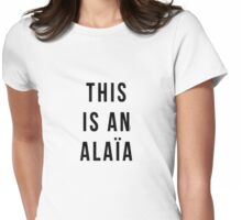 THIS IS AN ALAIA Womens Fitted T-Shirt