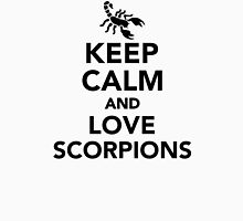 Keep calm and love scorpions Unisex T-Shirt