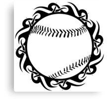 baseball : tribalz Canvas Print
