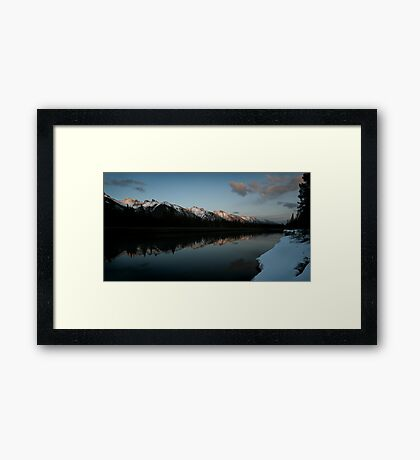 That's The Way It Is Here Framed Print