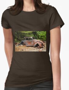 Target Practice Womens Fitted T-Shirt