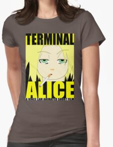 Terminal Alice (Poster 1) Womens Fitted T-Shirt