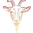 goat sketch by asyrum
