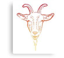 goat sketch Canvas Print