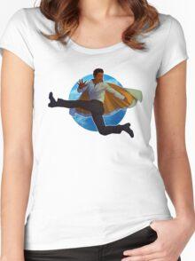 Lando Calrissian Women's Fitted Scoop T-Shirt